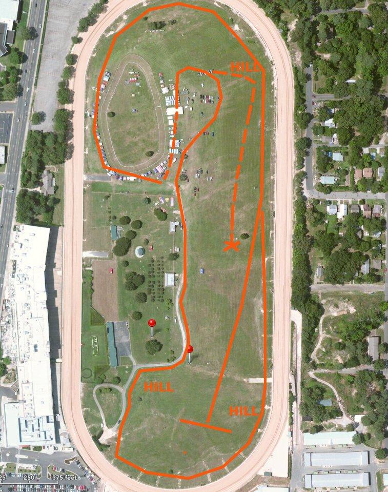 Oaklawn Park Course