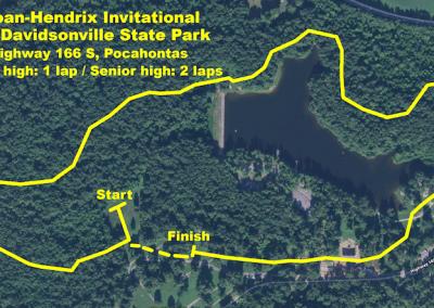 Old Davidsonville Park Course