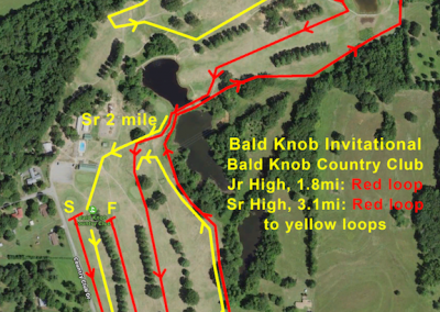 Bald Knob Country Club XC Courses
