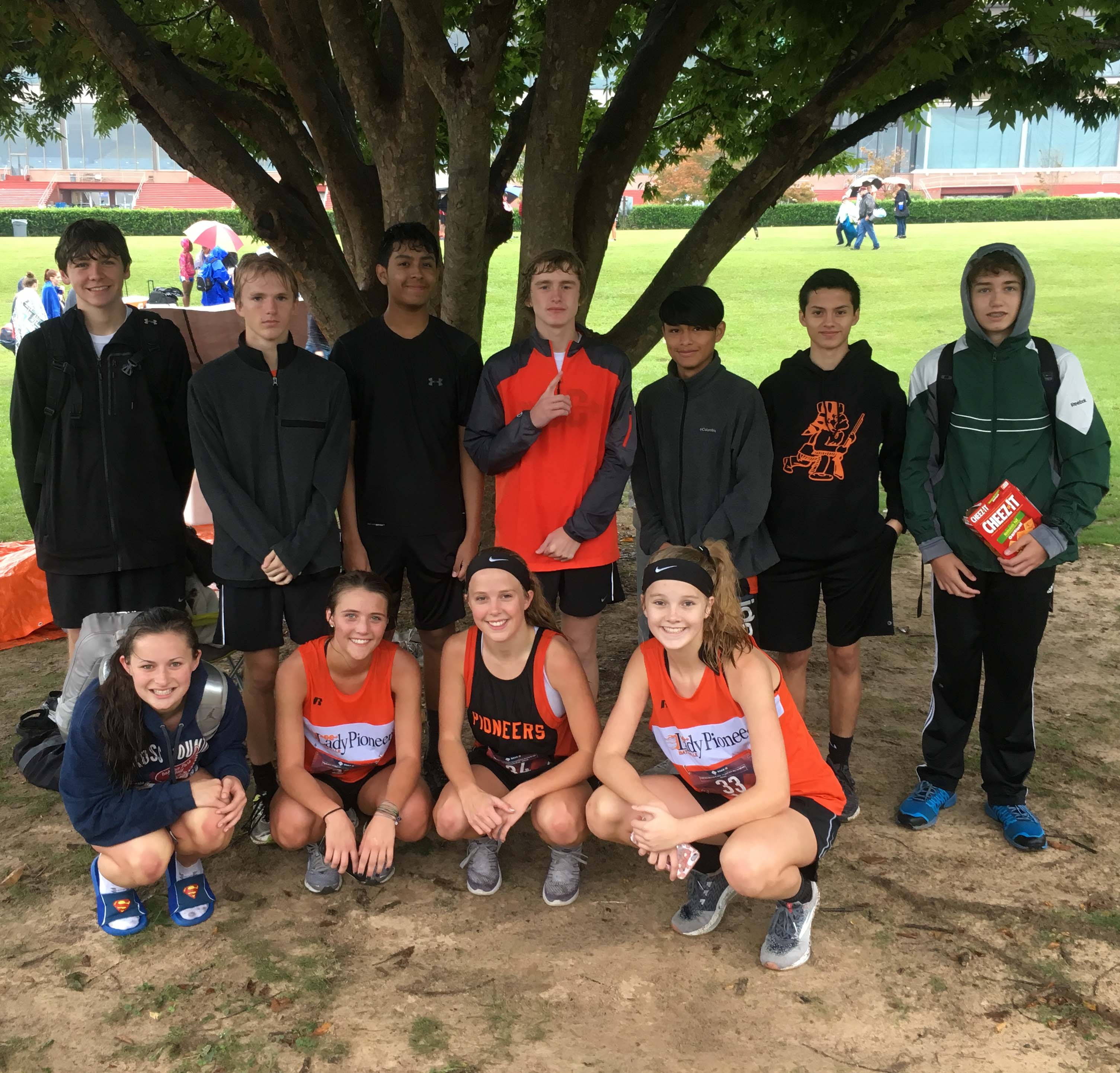 BHS XC at Oaklawn 10/13/2018