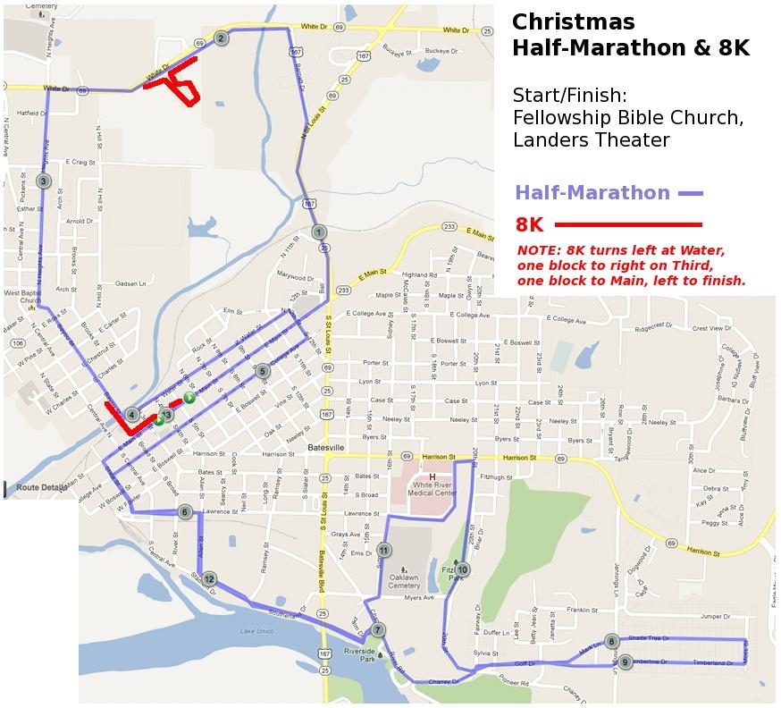 Christmas Half Marathon