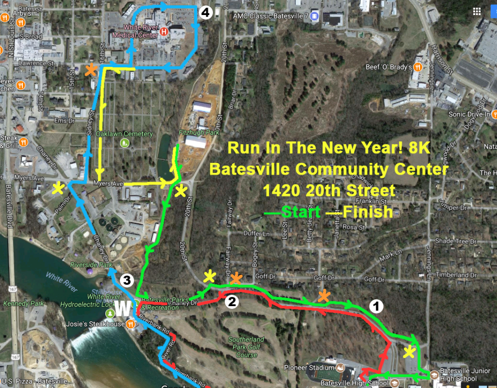 Run In the New Year 8K