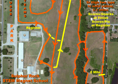 BHS Sulphur Rock XC Courses 2018