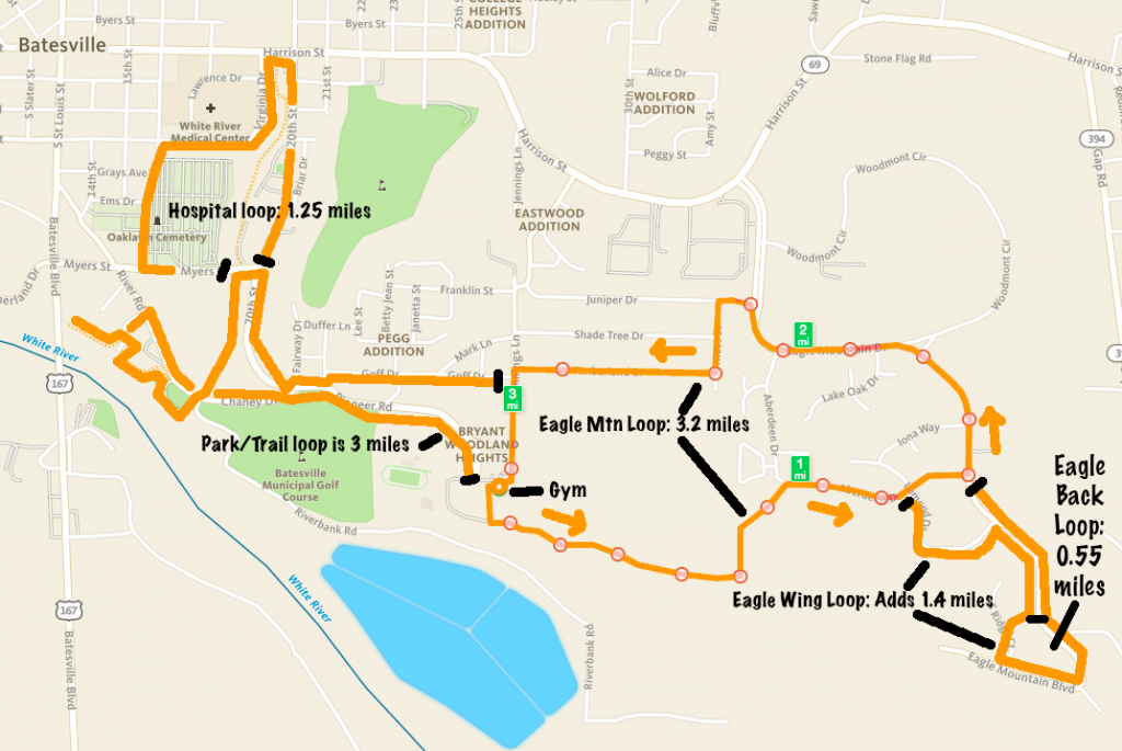 BHS Pioneer XC Routes