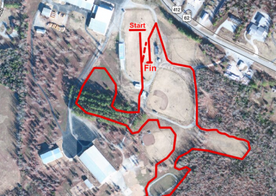 Salem High Course Map